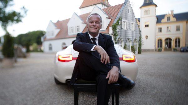 Richie Loidl mit Porsche 911 in Liebenberg 2